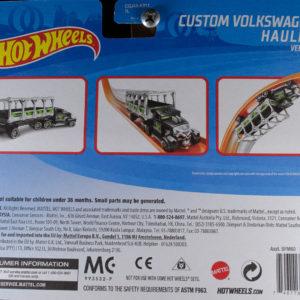Hot Wheels Custom Volkswagen Hauler: 2018 Track Stars Card Rear