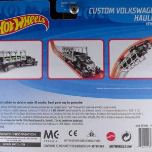 Hot Wheels Custom Volkswagen Hauler: 2020 Track Stars Card Rear