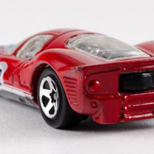 Hot Wheels Ferrari P4: 2010 #76 (Red) Rear Left