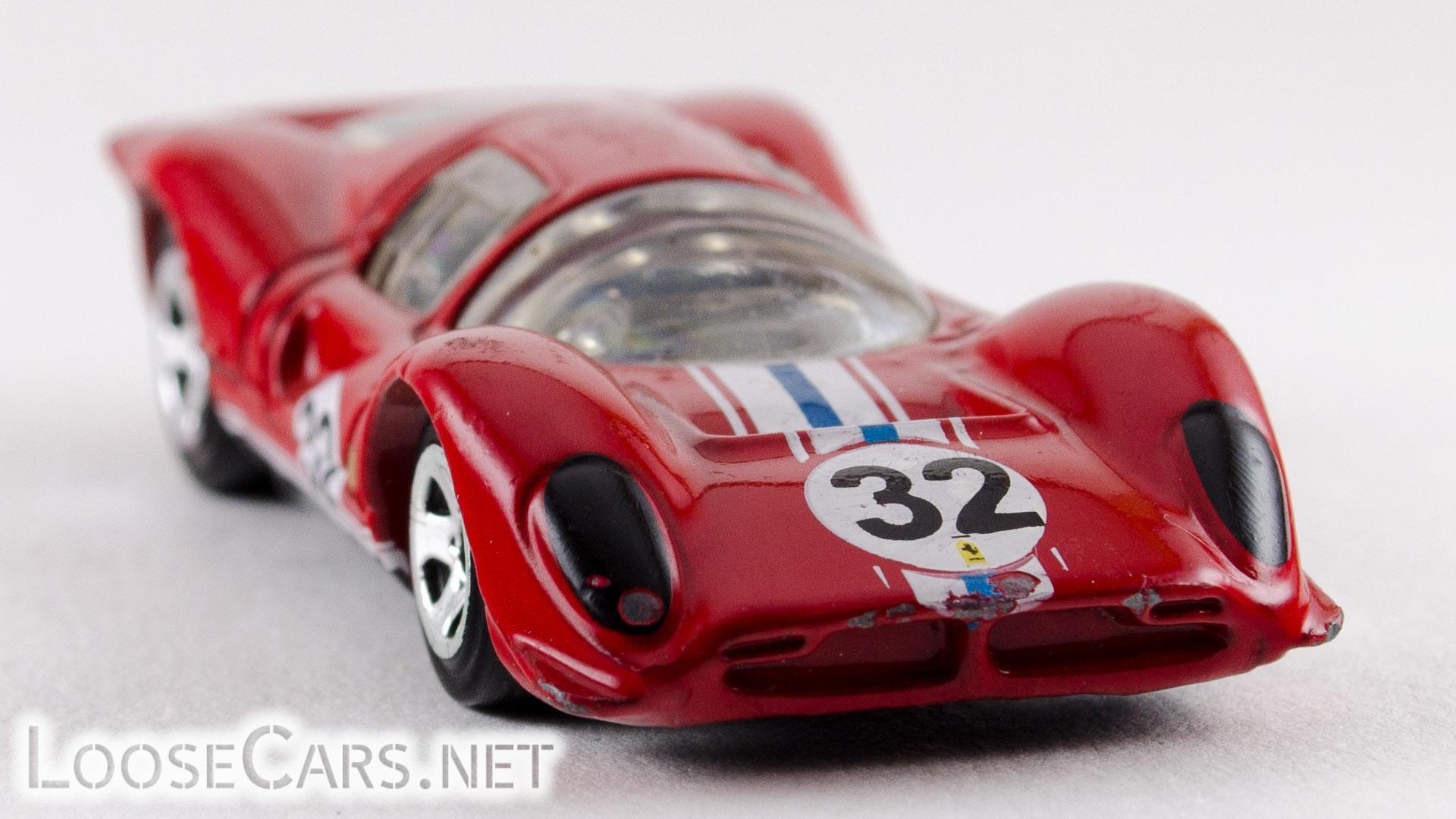 Hot Wheels Ferrari P4: 2010 #76 (Red) Front Right
