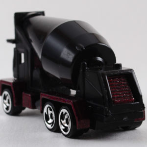 Hot Wheels Oshkosh Cement Mixer: 1999 #1011 Rear Left
