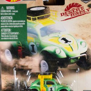 Hot Wheels Volkswagen Baja Bug: 2019 Desert Rally Card