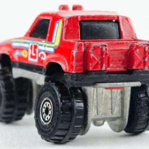 Hot Wheels Gulch Stepper: 1990 #49 CT Rear Left