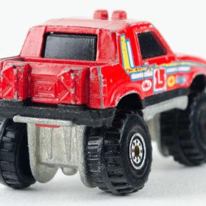 Hot Wheels Gulch Stepper: 1990 #49 CT Rear Right