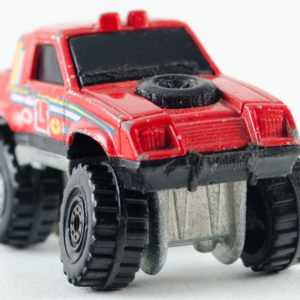 Hot Wheels Gulch Stepper: 1990 #49 CT Front Right